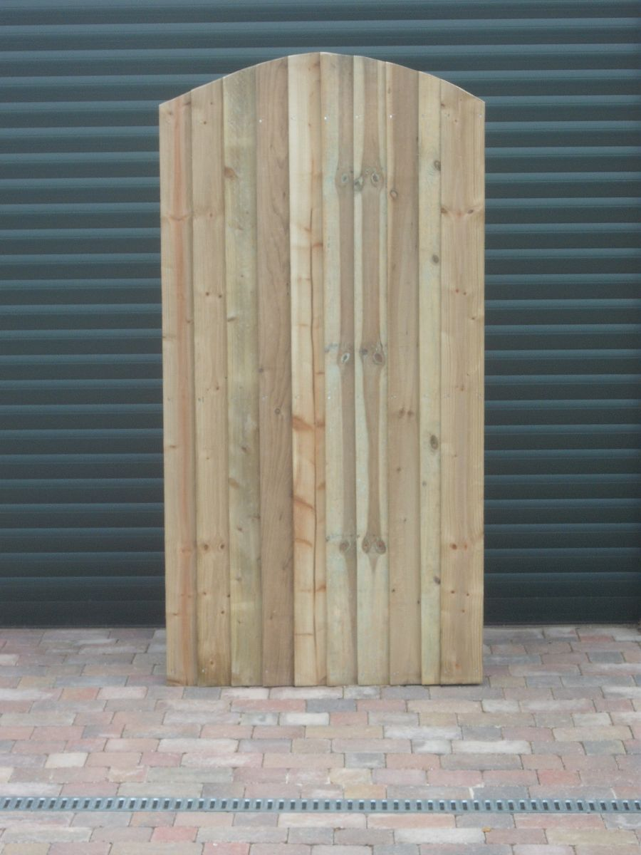 Custom made gate - front