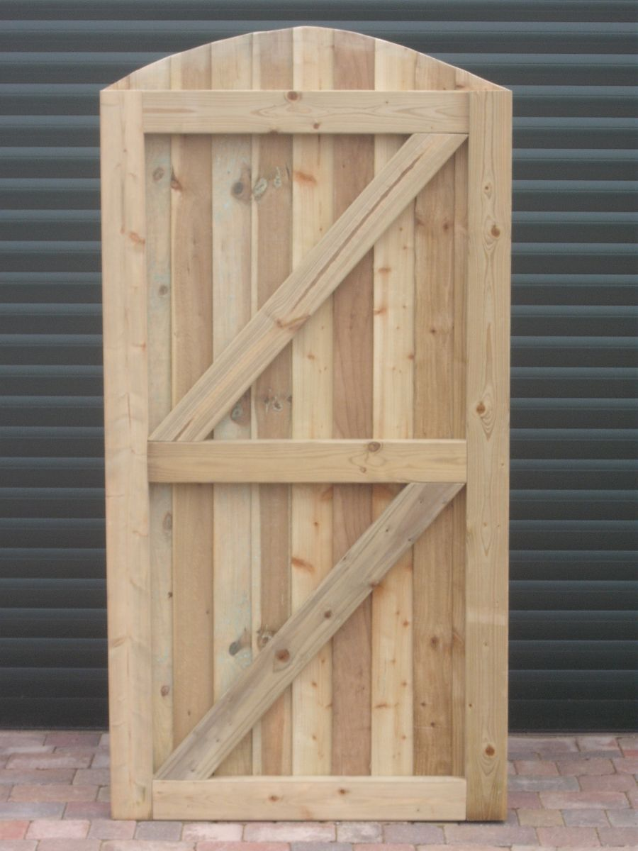 Custom made gate - back